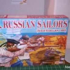 Hobbys: CAJA COMPLETA 1/72 SOLDADOS RED BOX MARINOS RUSOS REBELION BOXER. Lote 192949825