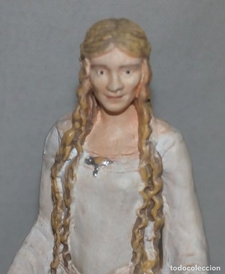 Hobbys: El Señor de los anillos. Figura de Plomo Nº 18 Galadriel. Sin caja. - Foto 2 - 194521371