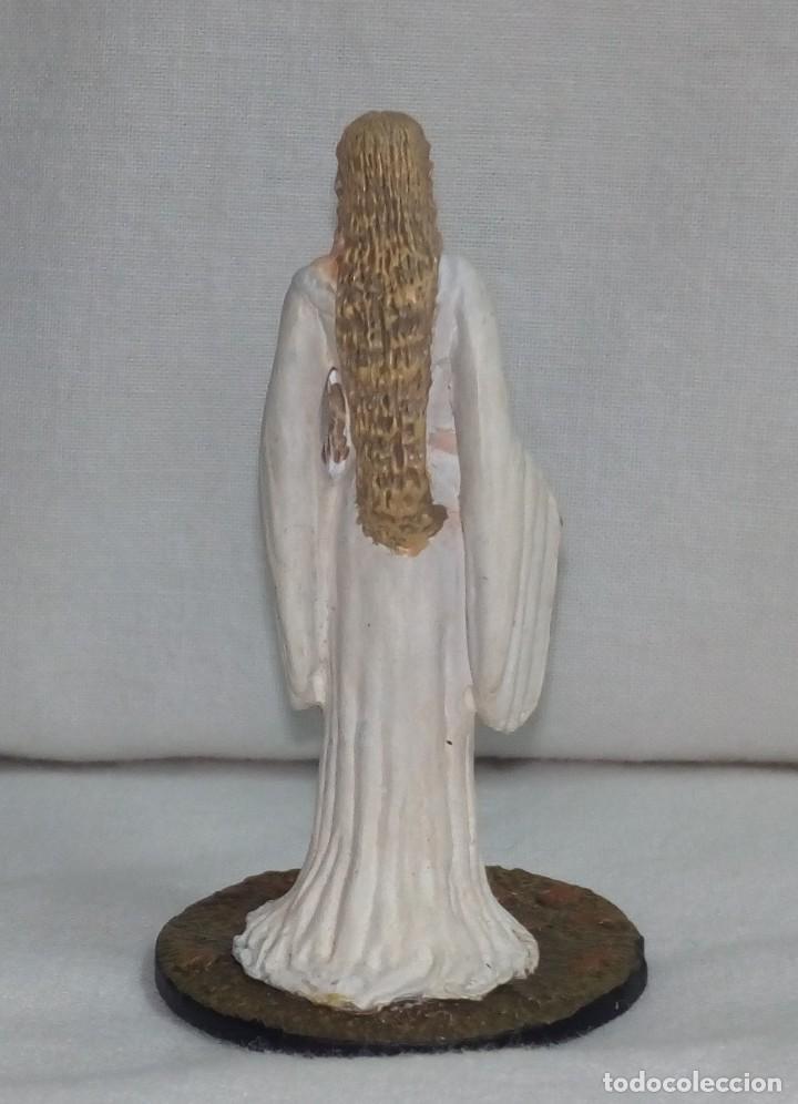 Hobbys: El Señor de los anillos. Figura de Plomo Nº 18 Galadriel. Sin caja. - Foto 5 - 194521371