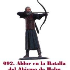 Hobbys: EL SEÑOR DE LOS ANILLOS. FIGURA DE PLOMO Nº 92 ALDOR. SIN CAJA.. Lote 194525308