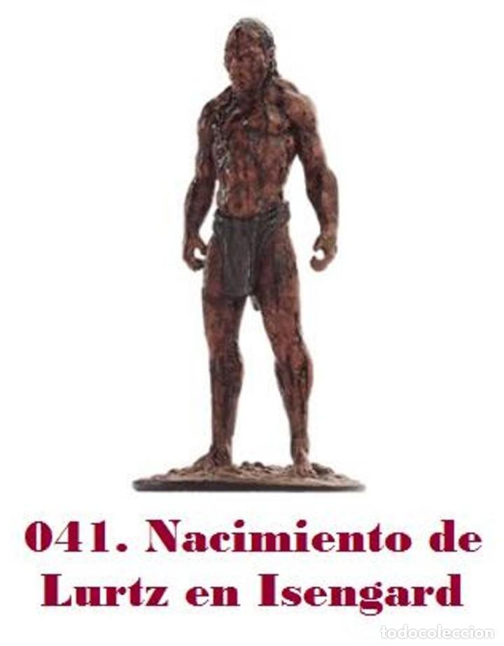 EL SEÑOR DE LOS ANILLOS. FIGURA DE PLOMO Nº 41 LURTZ SIN CAJA. (Juguetes - Modelismo y Radiocontrol - Figuras en miniatura)
