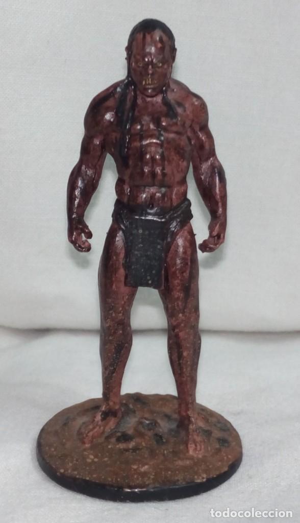 Hobbys: El Señor de los anillos. Figura de Plomo Nº 41 Lurtz Sin caja. - Foto 3 - 195234356