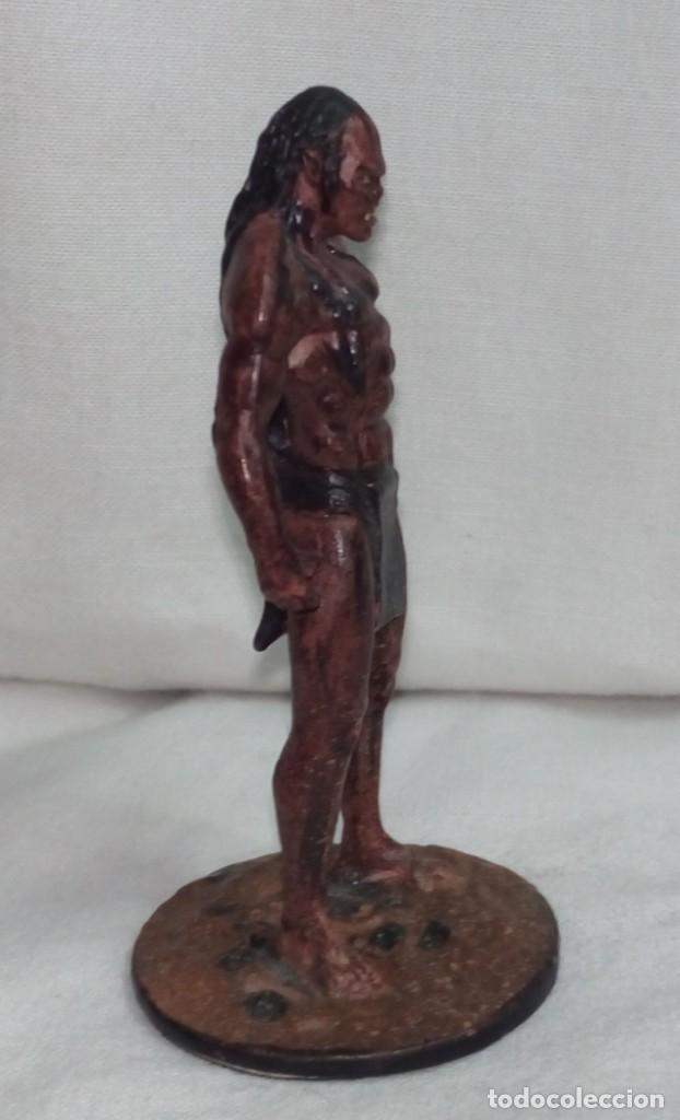 Hobbys: El Señor de los anillos. Figura de Plomo Nº 41 Lurtz Sin caja. - Foto 6 - 195234356