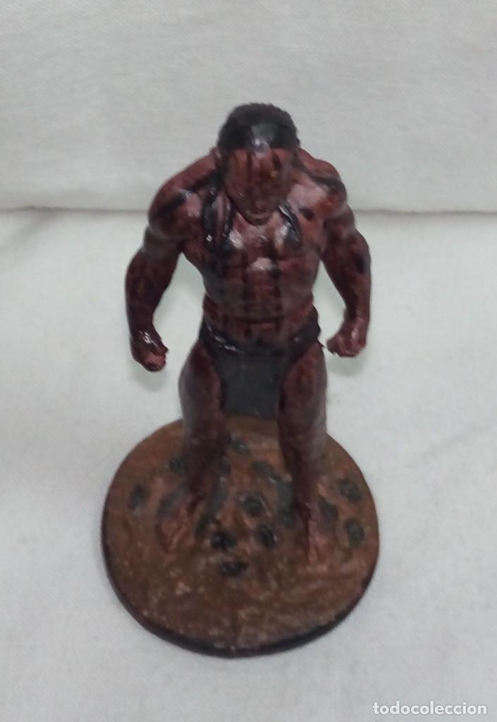 Hobbys: El Señor de los anillos. Figura de Plomo Nº 41 Lurtz Sin caja. - Foto 7 - 195234356
