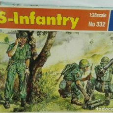 Hobbys: LOW COST 1/35 ITALERI NO 332 US INFANTRY, SEALED. Lote 195473048