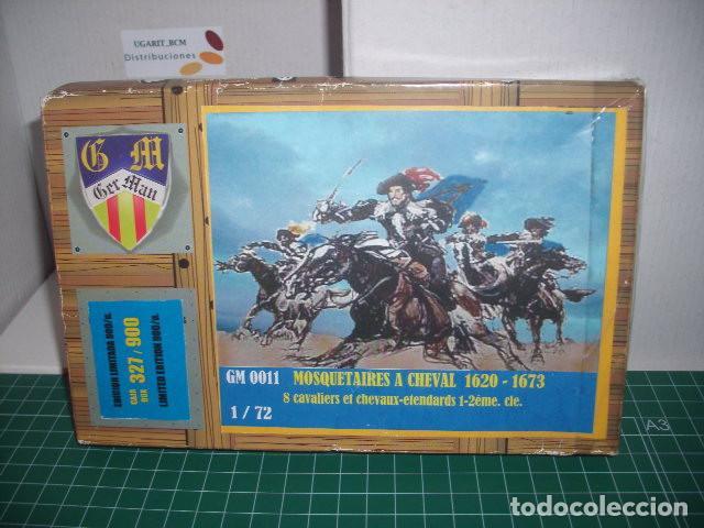MOSQUETEROS A CABALLO 1620-1673 BUM / GER MAN 1/72 segunda mano