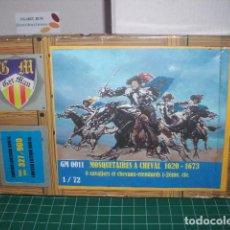 Hobbys: MOSQUETEROS A CABALLO 1620-1673 BUM / GER MAN 1/72. Lote 206591461