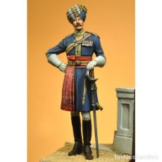 Hobbys: HORSE OFFICER 14TH PRINCE OF WALES OWN CAVALRY 1910. ART GIRONA. 70 MM. Lote 197499547