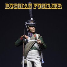 Hobbys: FUSILERO RUSO. GUERRAS NAPOLEÓNICAS. IRBIS MINIATURES. 75 MM. Lote 198417572