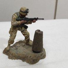 Hobbys: UNIMAX FORCES OF VALOR. COMBATIENTE DISPARANDO Nº 3 FIGURAS METAL. Lote 198845293