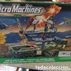 Hobbys: 1999 MICRO MACHINES/G.I. JOE CONJUNTO DE JUEGO DE LA BASE DE ASALTO MÓVIL/HASBRO. Lote 199691446