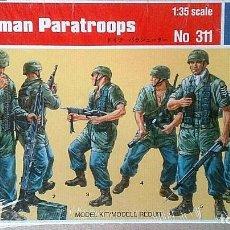 Hobbys: PARACAIDISTAS ALEMANES WW II REF 311 ITALERI 1/35 GERMAN PARATROOPS WW II,. Lote 201335738