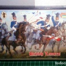 Hobbys: 1/72 STRELETS 0036 CRIMEAN WAR BRITISH LANCERS. Lote 203148135