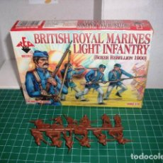 Hobbys: RED BOX 1/72 BRITISH MARINES BOXER REBELION 1 SPRUE / 1 PLANCHA. Lote 204711942