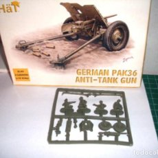 Hobbys: HAT 1/72 GERMAN PACK36 ANTI-TANK GUN 1 SPRUE / PLANCHA. Lote 205877595