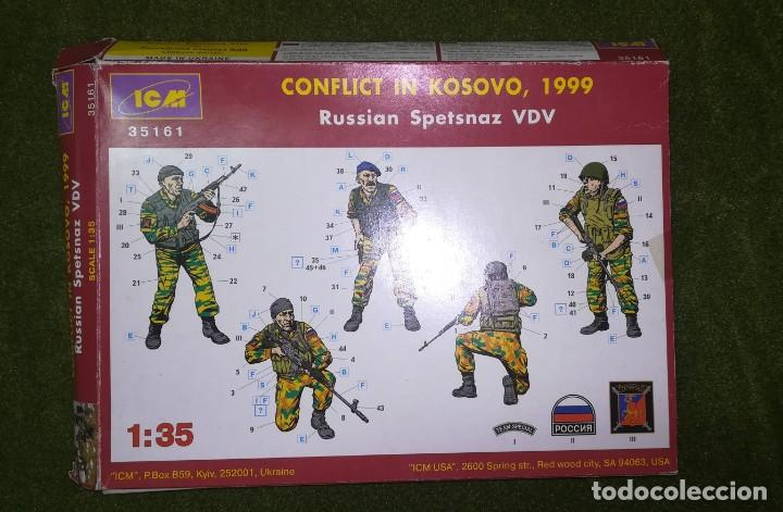 ICM Russian Soetsnaz 1:35-35161 Conflict in Kosovo 1999