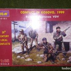 Hobbys: SPETSNAZ RUSOS - KOSOVO 1999 - ICM 35161 - 1/35. Lote 206493138