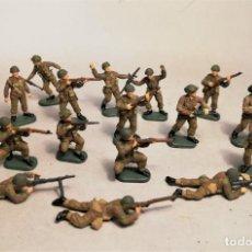 Hobbys: ITALERI. ESCALA 1/72. 16 SOLDADOS BRITISH PARATROOPERS. PINTADOS A MANO.. Lote 206518818