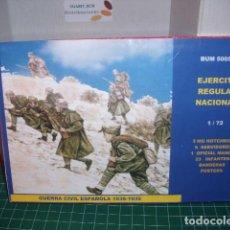 Hobbys: BUM 1/72 EJERCITO REGULAR NACIONAL / GUERRA CIVIL ESPAÑOLA.. Lote 206591597