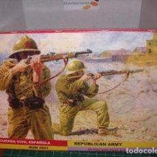 Hobbys: BUM 1/72 GUERRA CIVIL ESPAÑOLA / REPUBLICAN ARMY, SPANISH CIVIL WAR ULTIMOS ESTA SEMANA. Lote 206591662