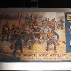 Hobbys: ZVEZDA SET 8028 FRENCH FOOT ARTILLERY - 1/72. Lote 206773308