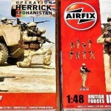 Hobbys: A03701 AIRFIX 1/48 BRITISH FORCES INFANTRY AND PATROL VEHICLE CREW OPERACIÓN HERRICK AFGANISTHAN. Lote 209385205
