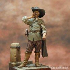 Hobbys: OFICIAL DE LOS TERCIOS. GUERRA DE LOS TREINTA AÑOS. ART GIRONA. 54 MM. Lote 209572615