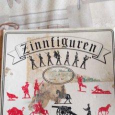 Hobbys: ZINNIFIGUREN FIGURAS DE PLOMO INFANTERIA PRUSIANA. Lote 209819520