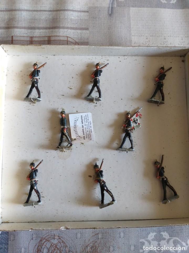 Hobbys: zinnifiguren figuras de plomo infanteria prusiana - Foto 2 - 209819520