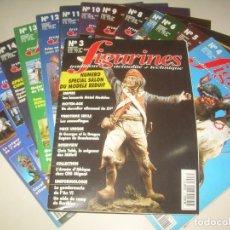 Hobbys: LOTE 14 REVISTA FIGURINES (FRANCÉS) 3-16 (1995-1997) . MINIATURAS MODELISMO FIGURAS ESCALA. Lote 209926311