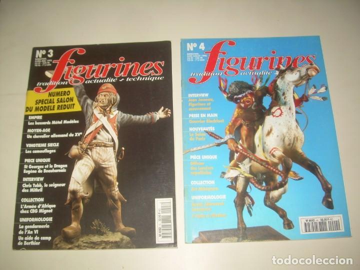 Hobbys: LOTE 14 REVISTA FIGURINES (FRANCÉS) nº del 3 al 16 (1995-1997) . MINIATURAS MODELISMO FIGURAS ESCALA - Foto 2 - 209926311
