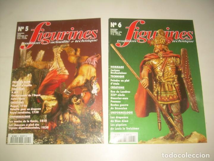 Hobbys: LOTE 14 REVISTA FIGURINES (FRANCÉS) nº del 3 al 16 (1995-1997) . MINIATURAS MODELISMO FIGURAS ESCALA - Foto 3 - 209926311