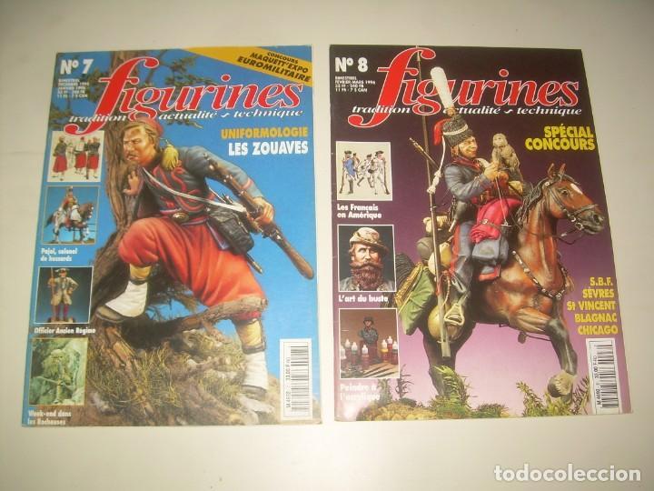 Hobbys: LOTE 14 REVISTA FIGURINES (FRANCÉS) nº del 3 al 16 (1995-1997) . MINIATURAS MODELISMO FIGURAS ESCALA - Foto 4 - 209926311