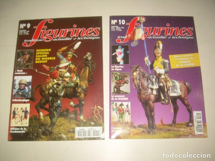 Hobbys: LOTE 14 REVISTA FIGURINES (FRANCÉS) nº del 3 al 16 (1995-1997) . MINIATURAS MODELISMO FIGURAS ESCALA - Foto 5 - 209926311