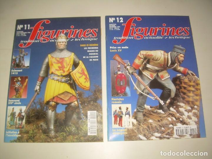 Hobbys: LOTE 14 REVISTA FIGURINES (FRANCÉS) nº del 3 al 16 (1995-1997) . MINIATURAS MODELISMO FIGURAS ESCALA - Foto 6 - 209926311