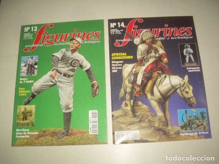 Hobbys: LOTE 14 REVISTA FIGURINES (FRANCÉS) nº del 3 al 16 (1995-1997) . MINIATURAS MODELISMO FIGURAS ESCALA - Foto 7 - 209926311