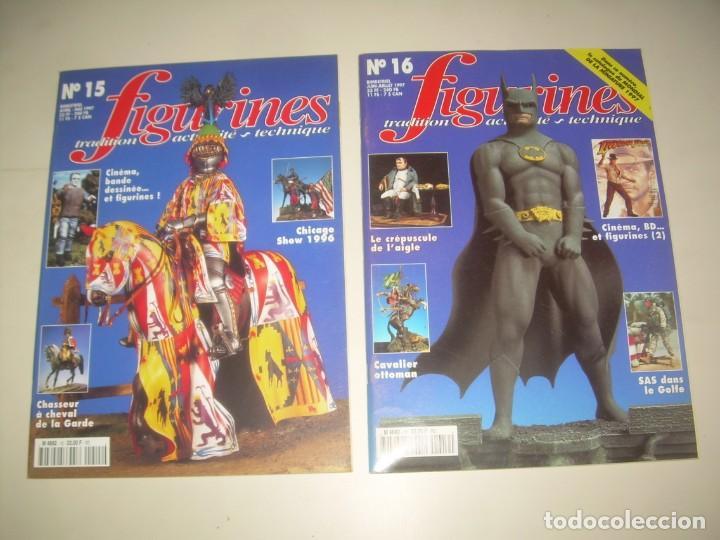 Hobbys: LOTE 14 REVISTA FIGURINES (FRANCÉS) nº del 3 al 16 (1995-1997) . MINIATURAS MODELISMO FIGURAS ESCALA - Foto 8 - 209926311