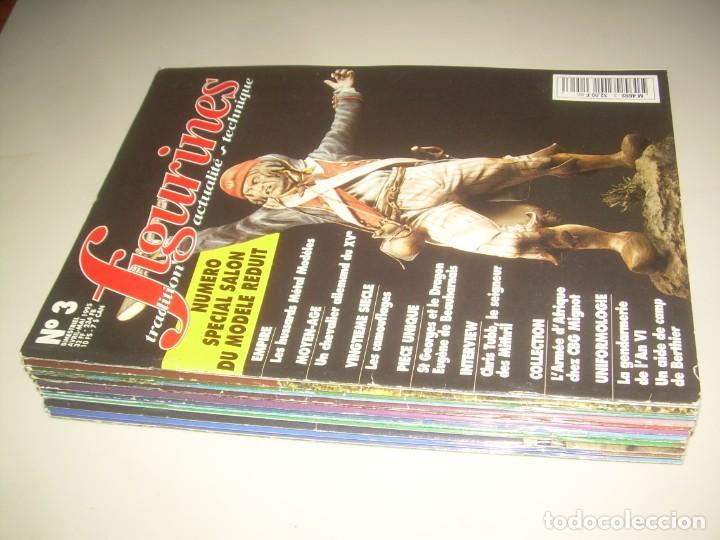 Hobbys: LOTE 14 REVISTA FIGURINES (FRANCÉS) nº del 3 al 16 (1995-1997) . MINIATURAS MODELISMO FIGURAS ESCALA - Foto 9 - 209926311