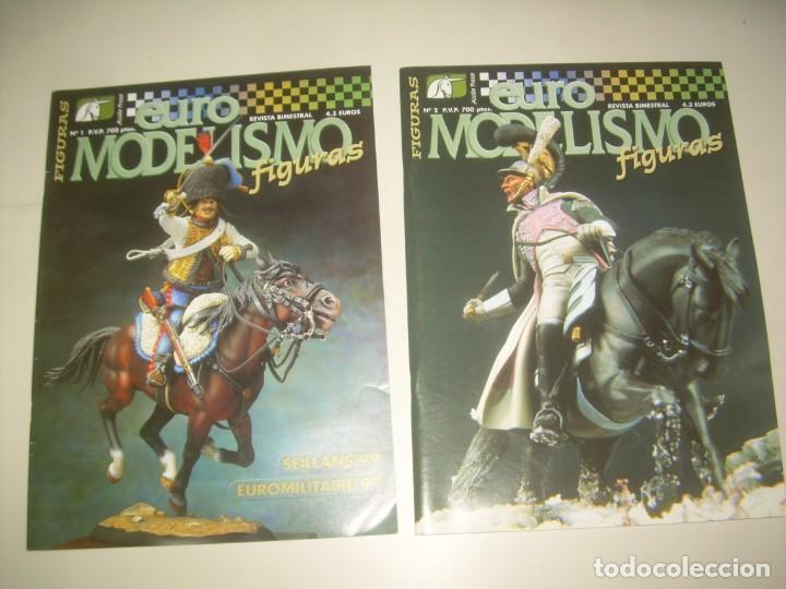 Hobbys: LOTE 45 REVISTA EURO MODELISMO euromodelismo FIGURAS 1 2 3 4 5 6 7 8 9 10 Y MÁS. VER FOTOS Y LISTA - Foto 3 - 209926680
