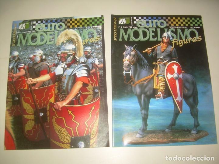 Hobbys: LOTE 45 REVISTA EURO MODELISMO FIGURAS 1 2 3 4 5 6 7 8 9 10 Y MÁS. VER FOTOS Y LISTA - Foto 4 - 209926680