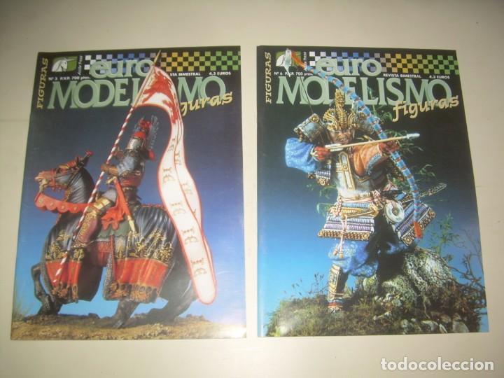 Hobbys: LOTE 45 REVISTA EURO MODELISMO FIGURAS 1 2 3 4 5 6 7 8 9 10 Y MÁS. VER FOTOS Y LISTA - Foto 5 - 209926680