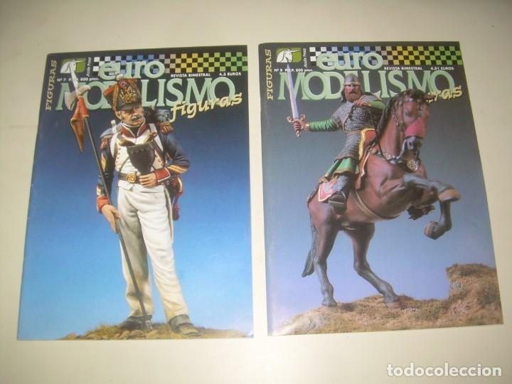 Hobbys: LOTE 45 REVISTA EURO MODELISMO FIGURAS 1 2 3 4 5 6 7 8 9 10 Y MÁS. VER FOTOS Y LISTA - Foto 6 - 209926680