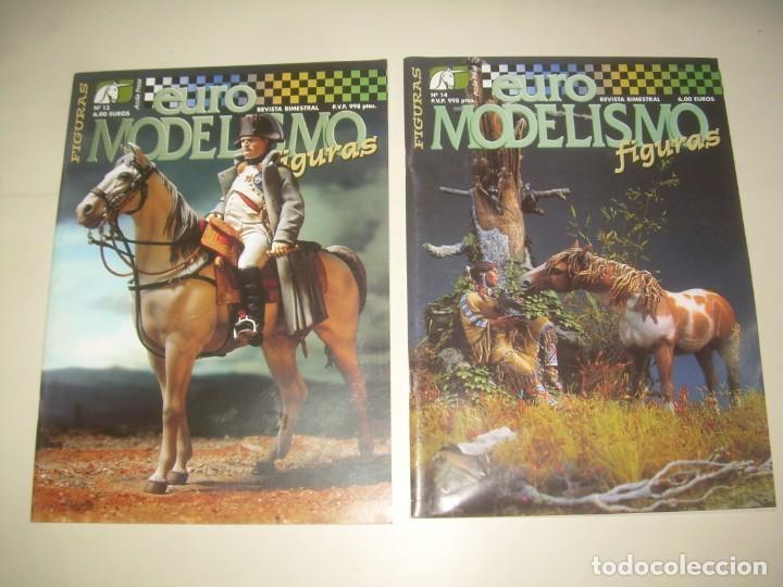 Hobbys: LOTE 45 REVISTA EURO MODELISMO FIGURAS 1 2 3 4 5 6 7 8 9 10 Y MÁS. VER FOTOS Y LISTA - Foto 9 - 209926680