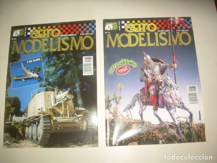 Hobbys: LOTE 45 REVISTA EURO MODELISMO euromodelismo FIGURAS 1 2 3 4 5 6 7 8 9 10 Y MÁS. VER FOTOS Y LISTA - Foto 14 - 209926680