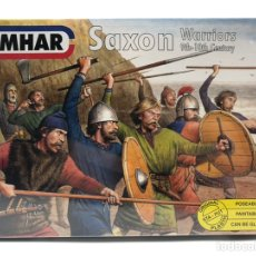 Hobbys: SAXON WARRIORS GUERREROS SAJONES EMHAR ESCALA 1:72 NUEVO PRECINTADO.. Lote 210204950