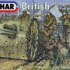 Hobbys: EMHAR 7202 - BRITISH WWI ARTILLERY WITH 18 PDR GUN - 1/72 PRECINTADA / SEALED. Lote 210231681