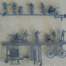 Hobbys: EMHAR 7202 - BRITISH WWI ARTILLERY WITH 18 PDR GUN - 1/72 1 SPRUE / PLANCHA. Lote 210234295