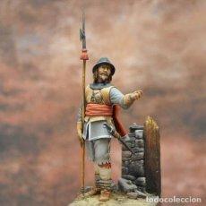 Hobbys: SOLDADO REALISTA. GUERRA CIVIL INGLESA. 1644. ART GIRONA. 54 MM. Lote 210653781