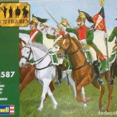 Hobbys: 02587 REVELL 1/72 DRAGONES FRANCESES NAPOLEONICOS.. Lote 218286410