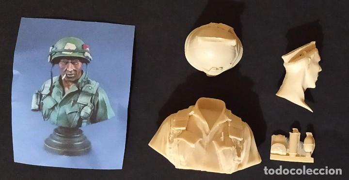 BUSTO DE MARINE NORTEAMERICANO EN VIETNAM (Juguetes - Modelismo y Radiocontrol - Figuras en miniatura)